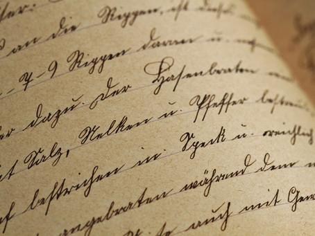 Les écrits restent...