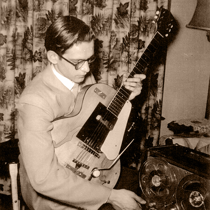 Del Casher 1954 Harmony Sepia