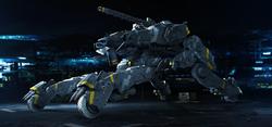 A.I.-controlled Tank