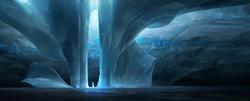 Glacier temple