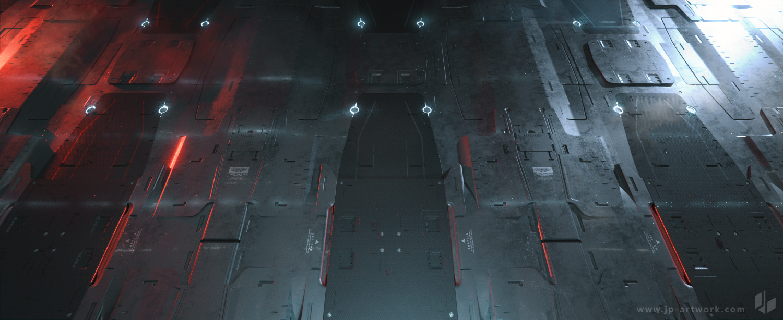 Sci-fi Floor Panels