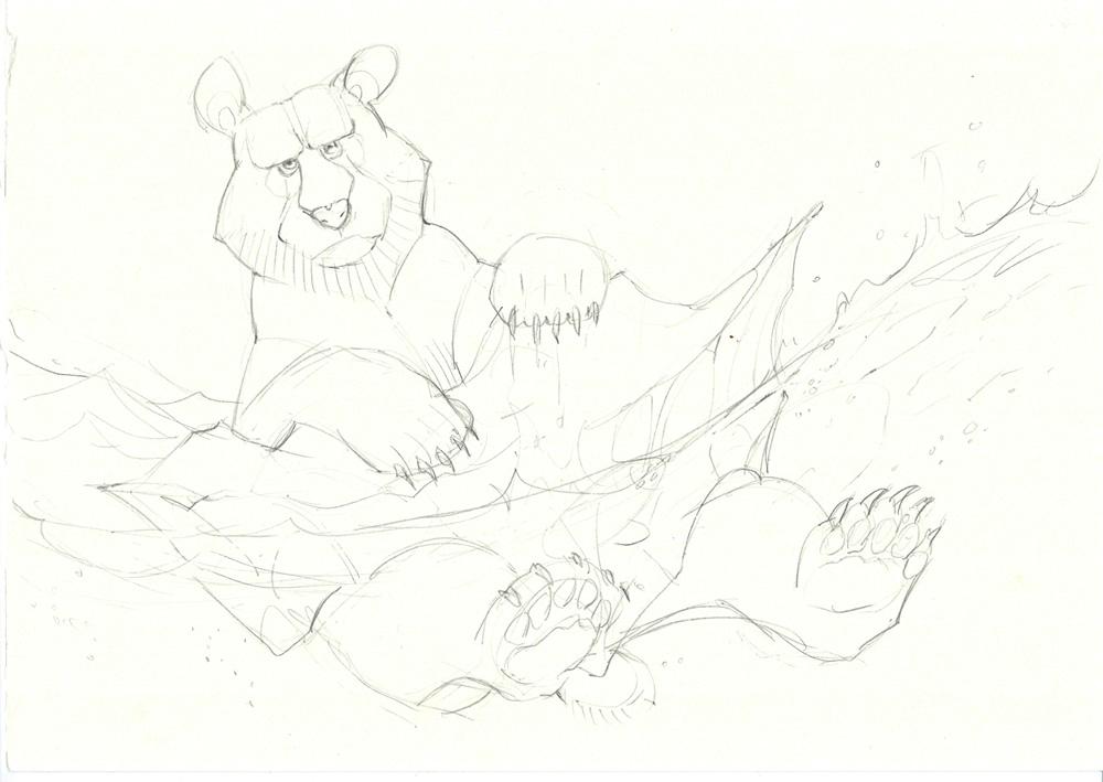 Sketch - Polar Bear
