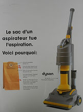 Dyson press Ad France