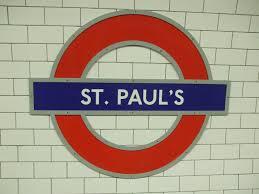 Métro St Paul's