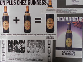Guinness Print West Africa