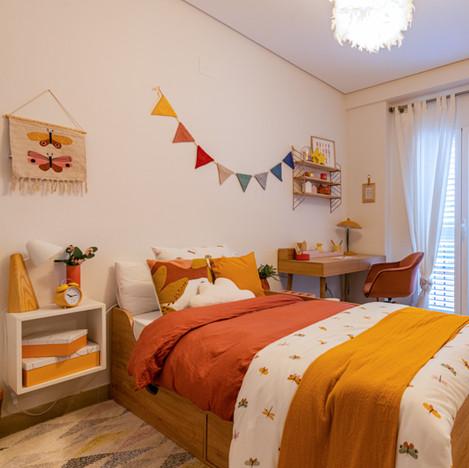 Proyecto Dormitorios en vivienda de Meliana