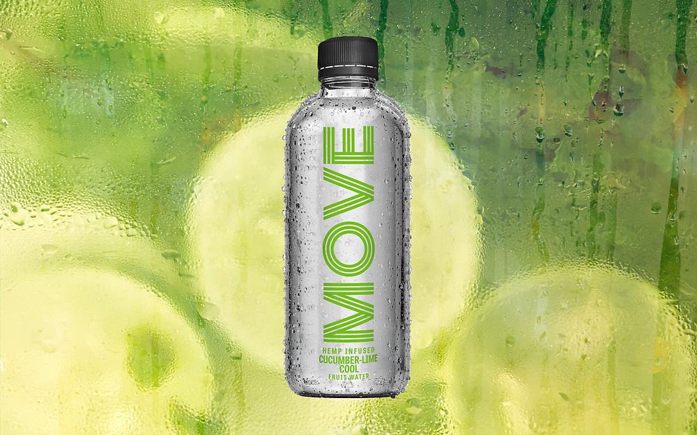 Cucumber Lime Hemp Water MOVE