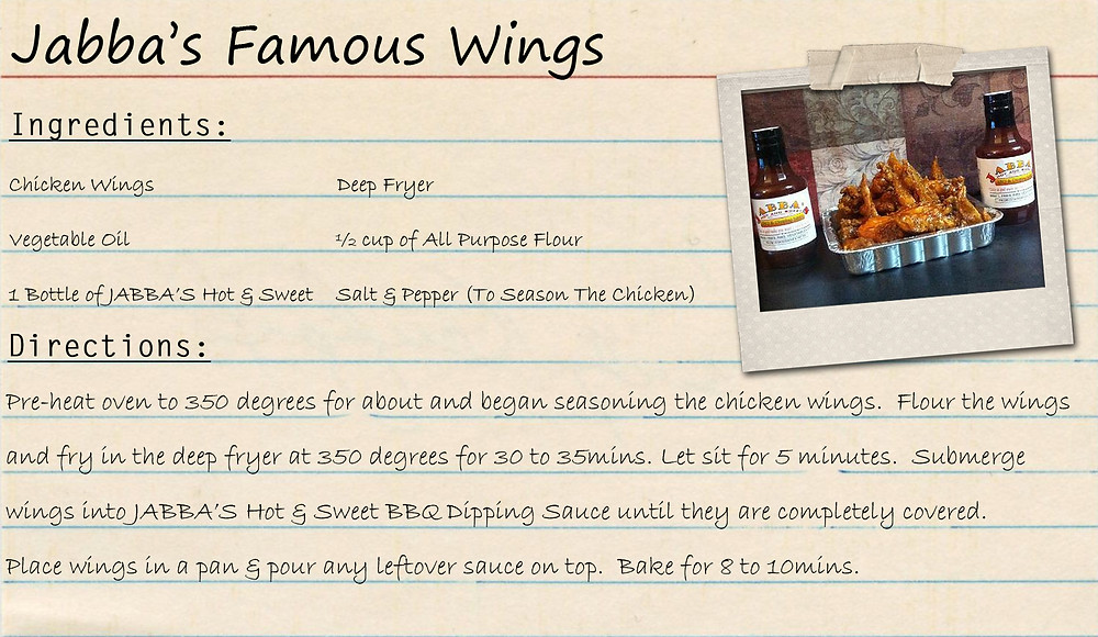 Jabba's Famous Wings