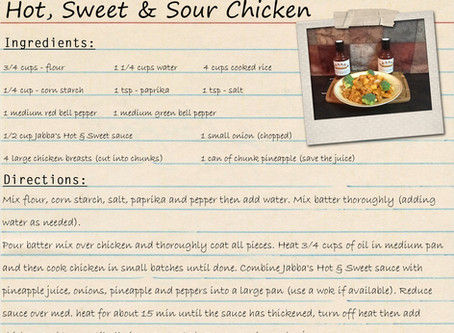Hot, Sweet & Sour Chicken