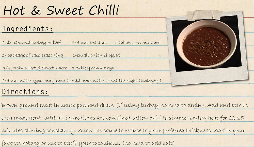 Hot & Sweet Chili