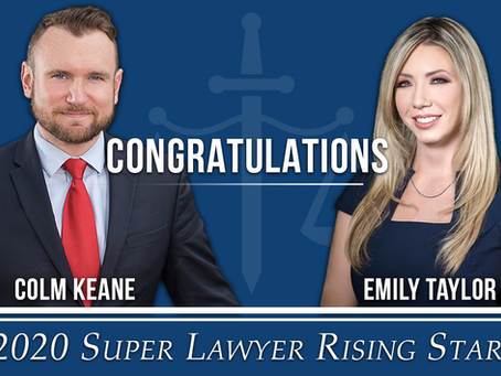 Congratulations, 2020 Super Lawyer Rising Stars!