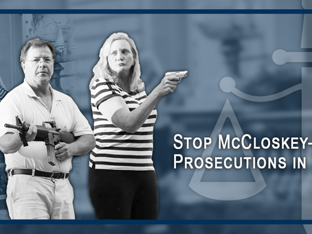 Stop McCloskey-Style Prosecutions in Texas: Vague Texas Gun Law Undermines Our Right of Defense