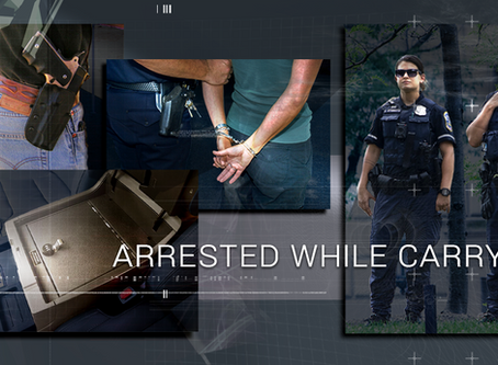 Arrested While Carrying