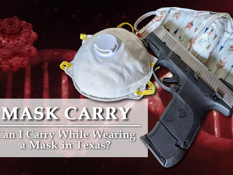 Carrying While Wearing a Mask