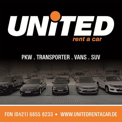 Webseitenrelaunch der UNITED rent a car Autovermietung