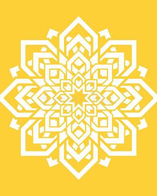 flor-da-mandala-elemento-do-projeto-ioga