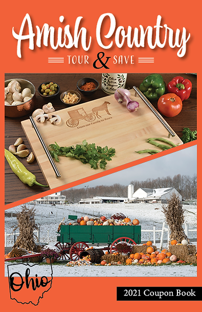 Amish Country Ohio Coupon Book / 2021 Coupons