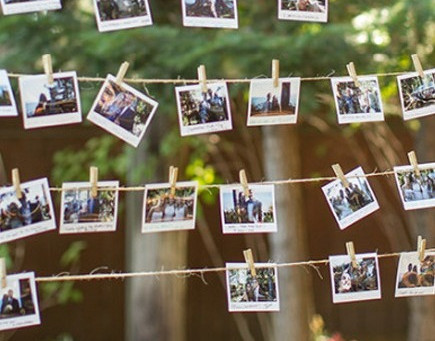 Wedding inspo - our favourite ways to use instax cameras at weddings...