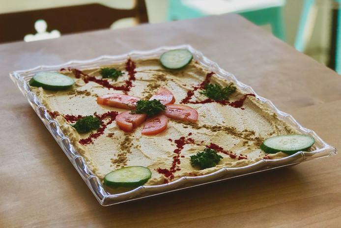 Shareable Hummus plates.