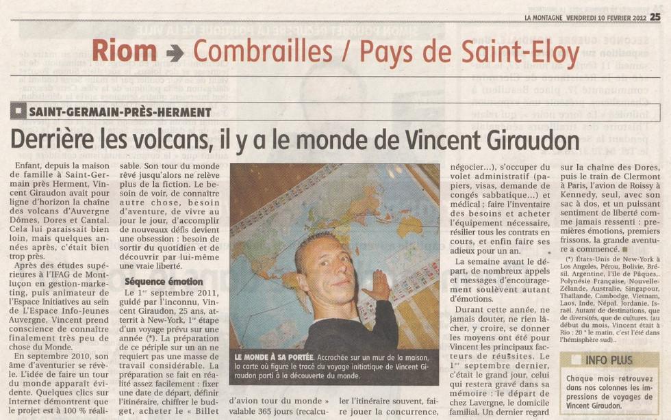 Départ Tour du Monde - Sept 2011
