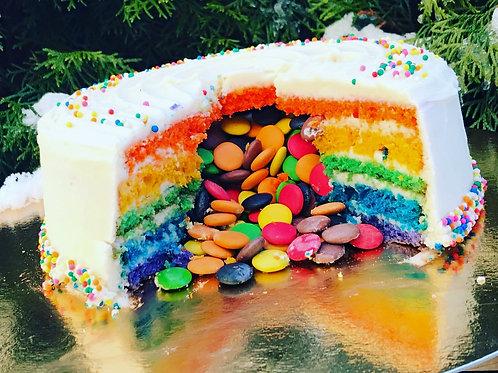 Rainbow kake