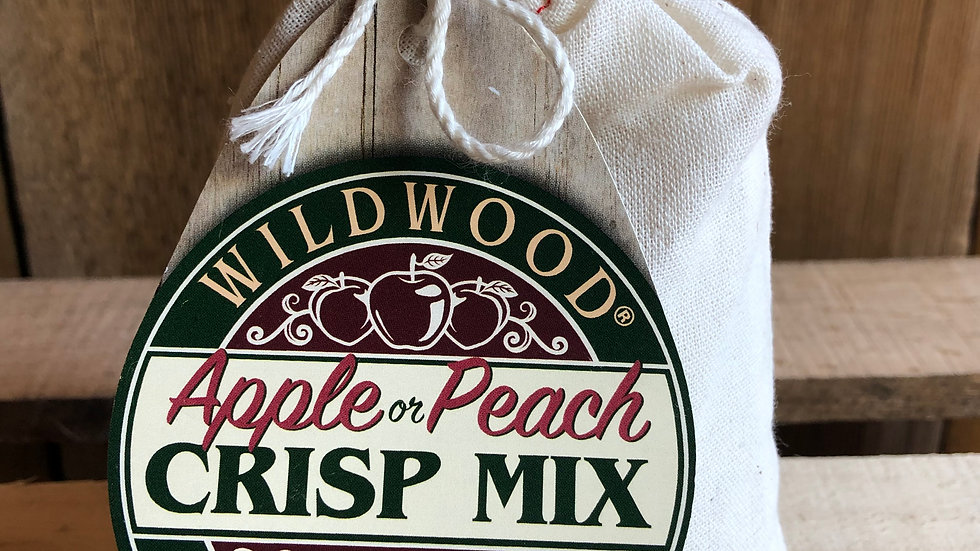 Apple or Peach Crisp Mix