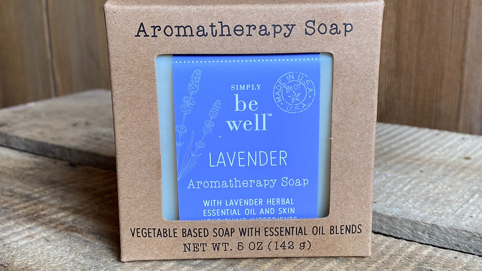 Simply Be Well Aromatherapy 5 oz. Bar Soap
