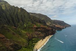 Kauai Aerial_HIHWNMS_Credit Nick Zachar-