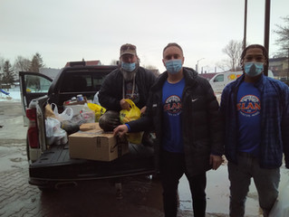 Steel City Sports Complete a Successful Food Drive