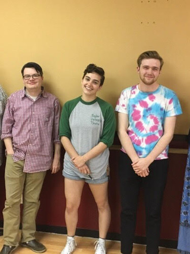 The Cast of Some Sunny Day's Workshop at The Core Theatre