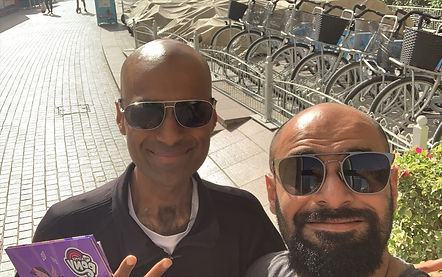 Abdulrahman and Ghanim Together