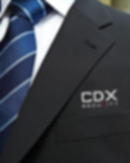 CDXSEC Security Blue Tie Suit Officer Gu