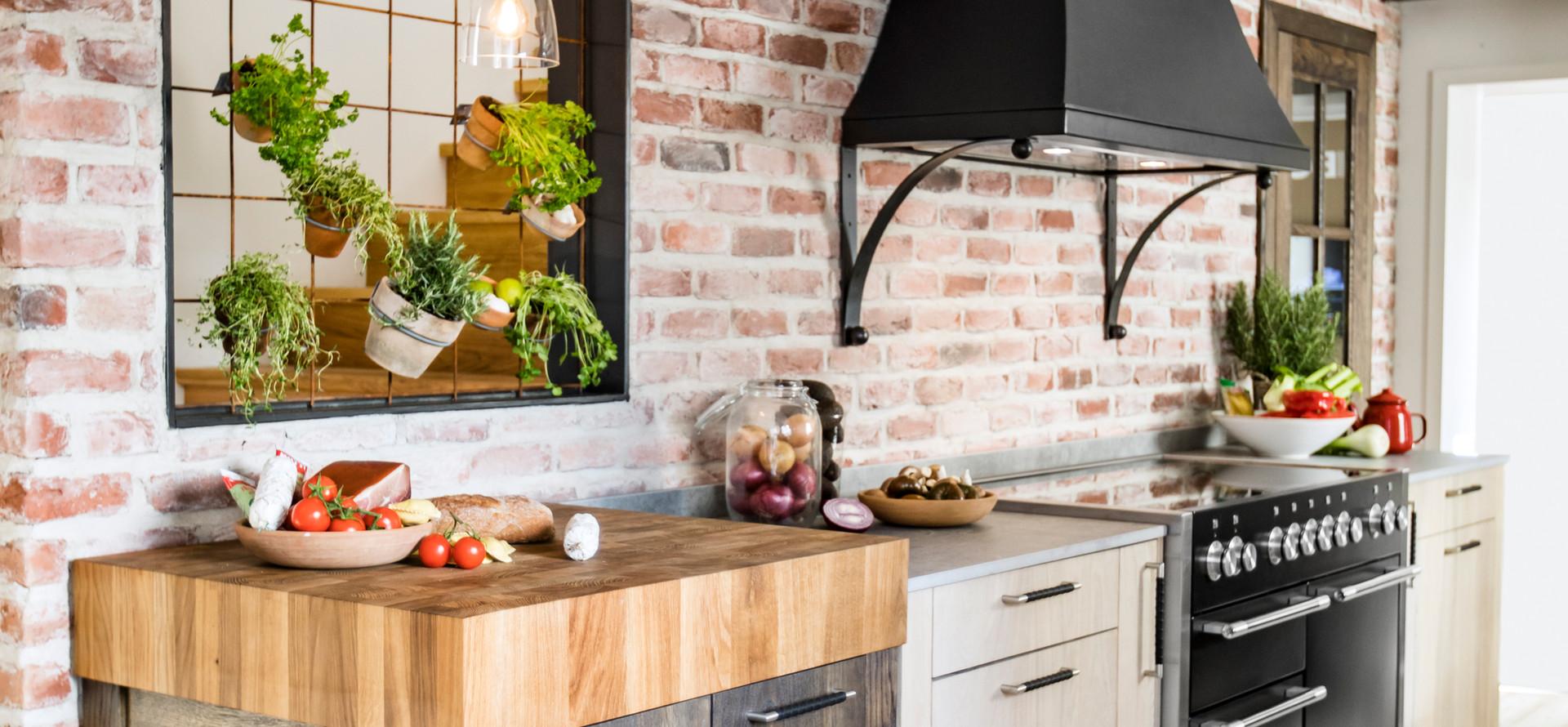 Slite vinterek - Ett rustikt kök för kreativ matlagning