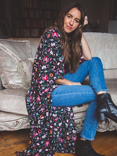 Claire Maxi Kimono