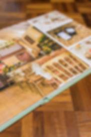 Luxury wedding photo album showing wedding venue | Thomas Whld Photography