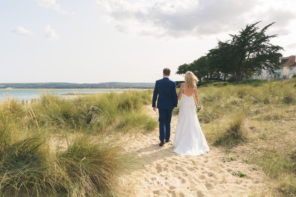 Bonnie and Ferg - Sandbanks Beach Wedding Photography