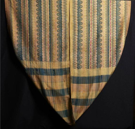 1850s Pasho, man's hip wrapper
