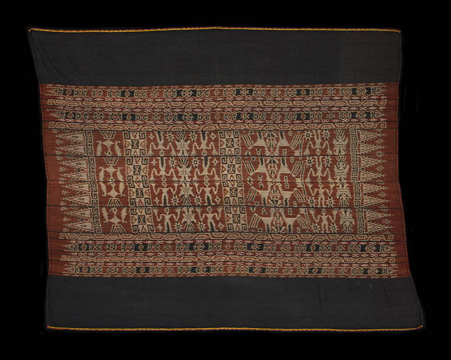 19th century sarong with double headed eagles