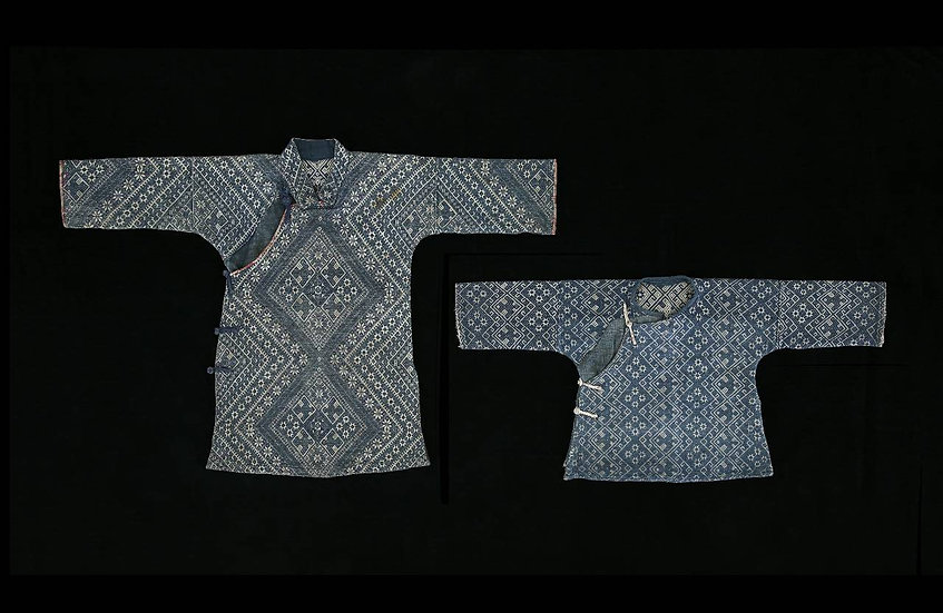 Two 1960s children's blouses