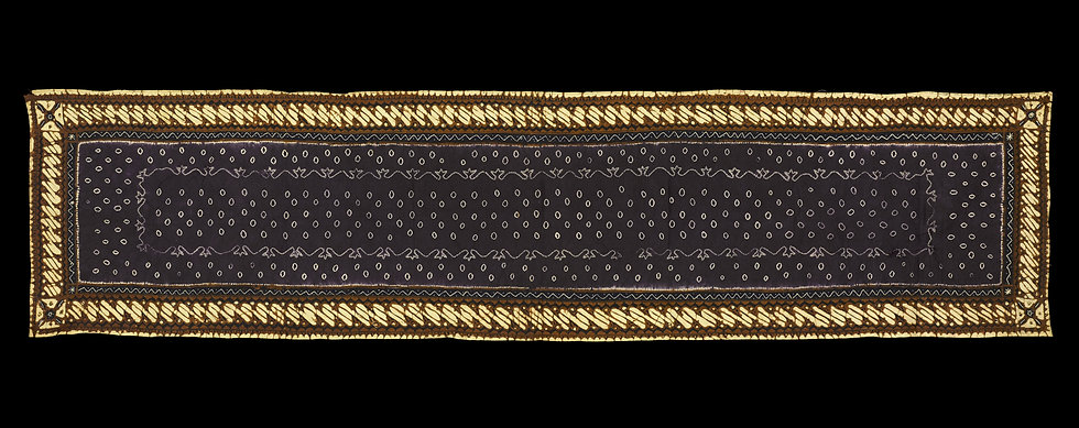 1950s Small Kemben Batik Tulis/Tritik