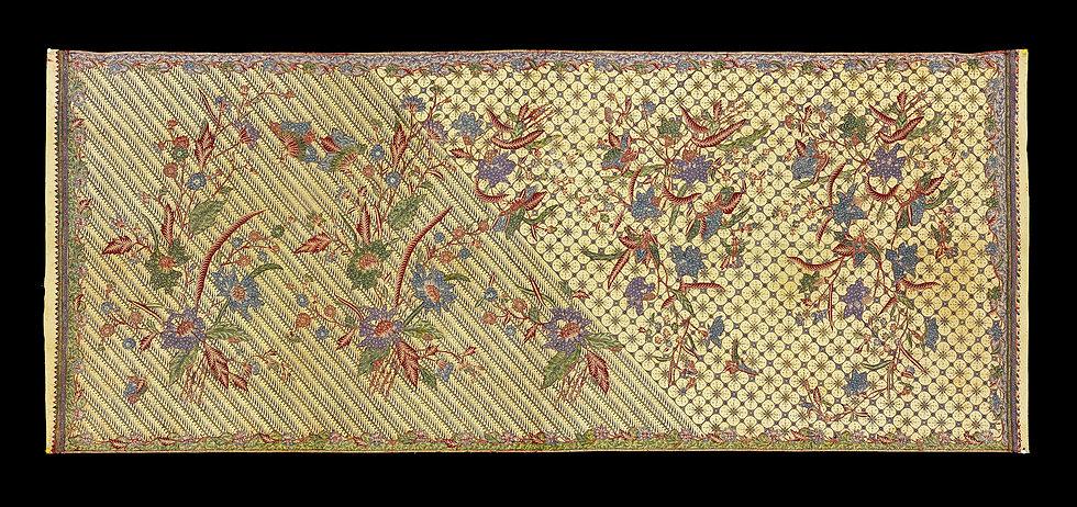 1940's Kain Panjang Batik Tulis Pagi Sore