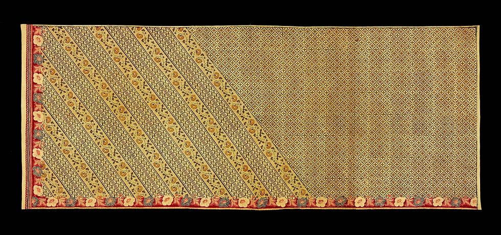 1930 - 1940's Kain Panjang Batik Tulis Pagi Sore