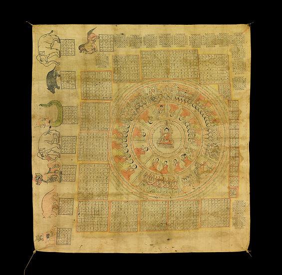 1900s Talismatic chart.