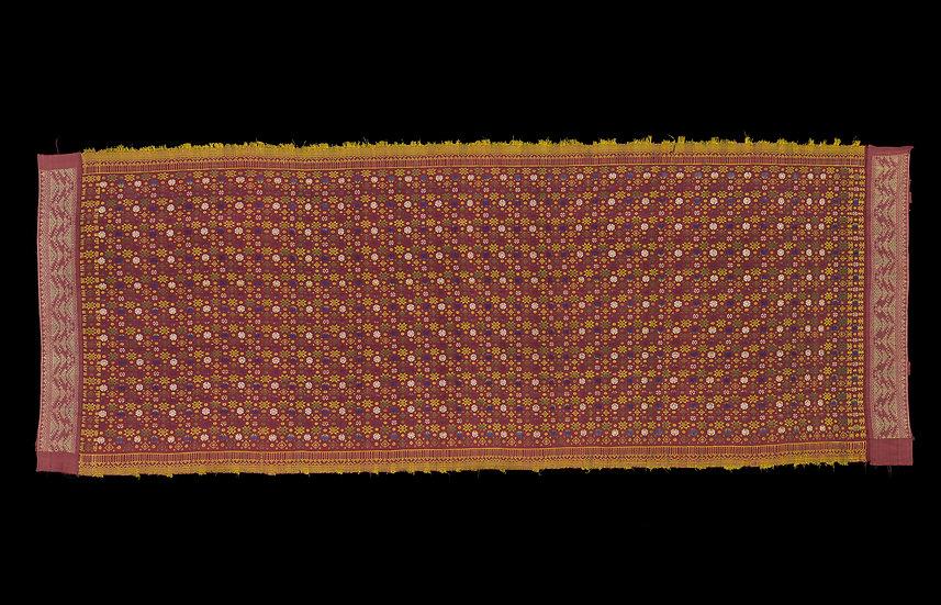 19th century, ceremonial shawl
