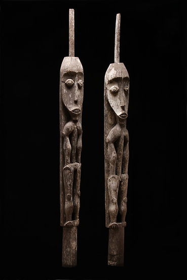 Pair of 14th century Hampatong or Tepatung