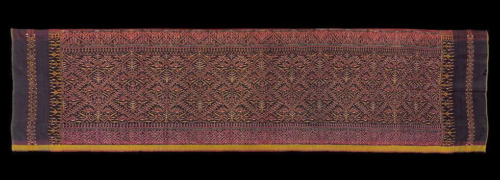 Very rare 19th century Chong Kraben, long cloth for warpping as pantaloons