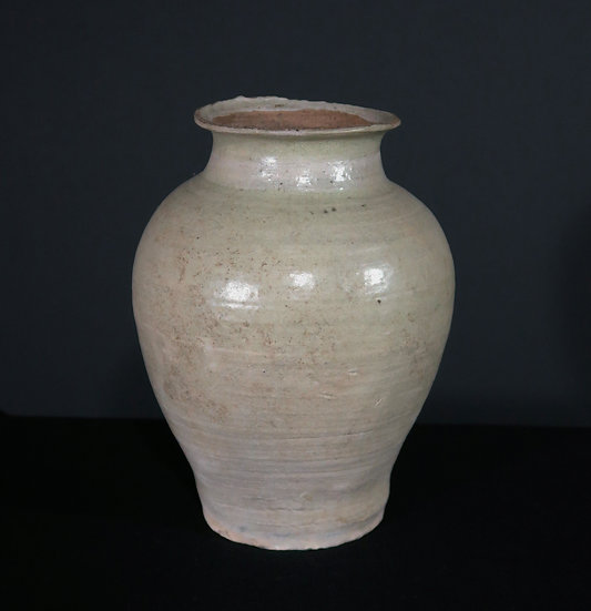 San kampeng ware, plain light celadon glazed ware