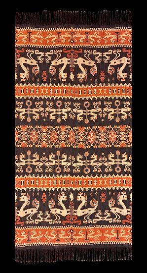 2010s Hinggi Kombu, man's ceremonial shawl