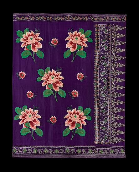 1920-40s Sarong Batik Kotak