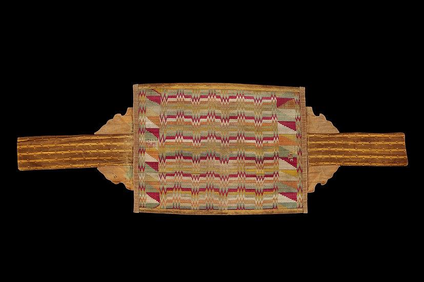 1920s ~ 1930s Burmese Shan Buddhist Scripture Wrappers (Sa Pa Lwa)